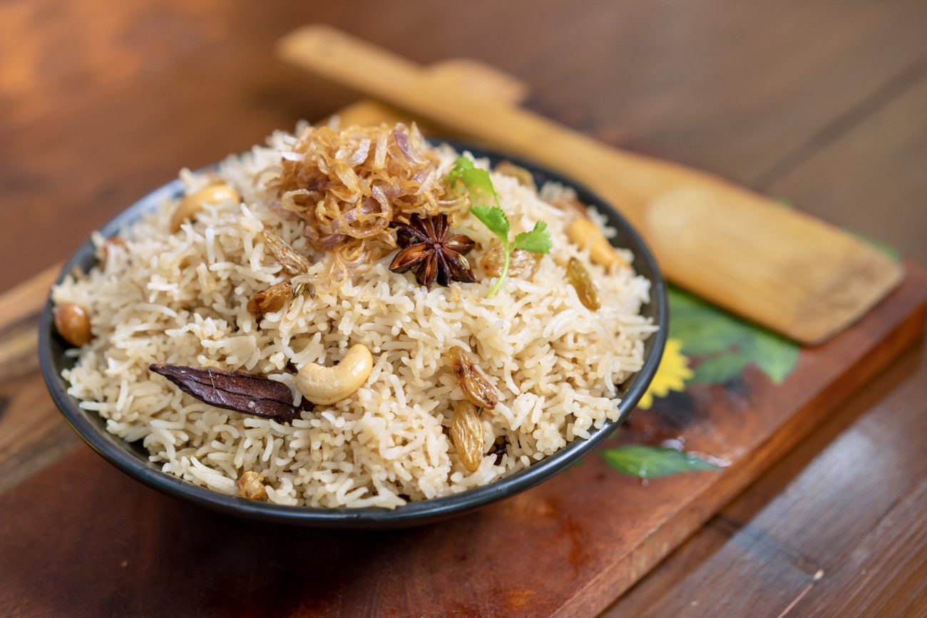 Ghee Rice Pulao | Neychoru | Veg Pulav | Nei Choru