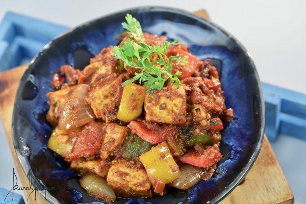 Kadai Paneer by Chef Kunal Kapur