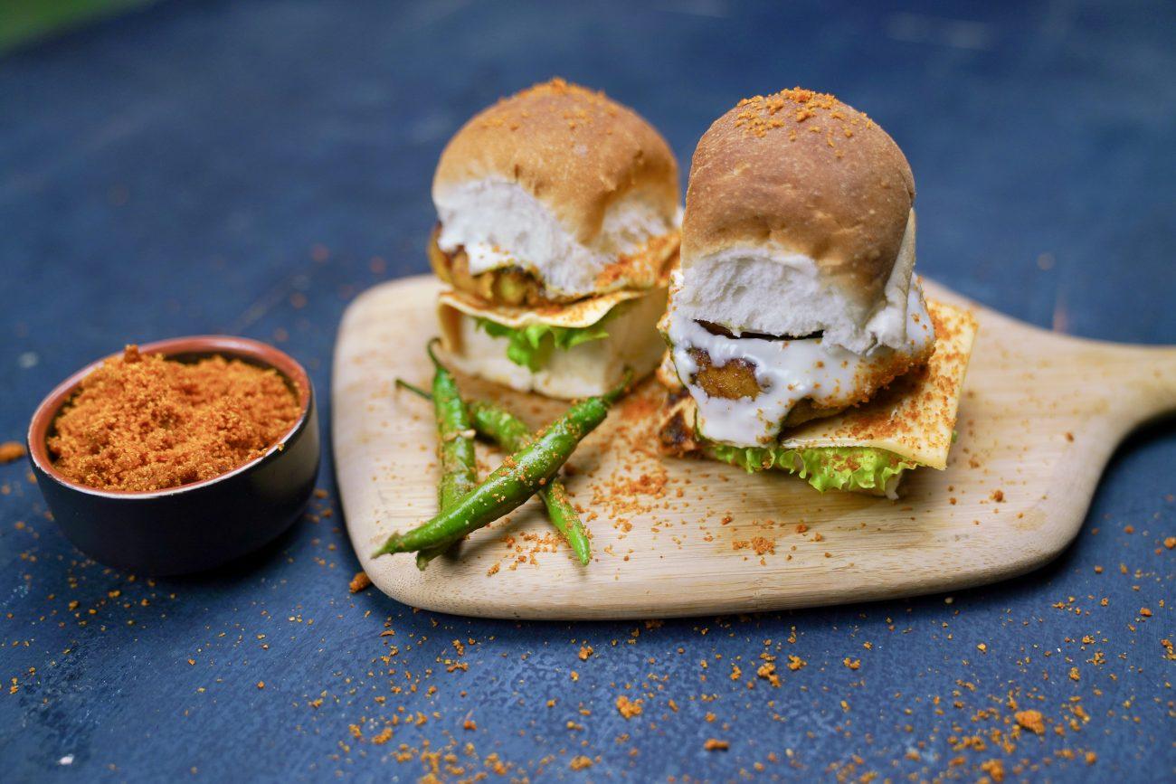 Vada Pav Burger/ Bombay Burger