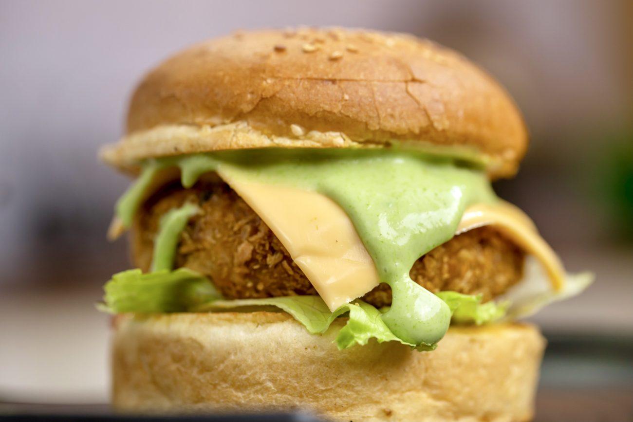 Veg Burger Recipe   Aloo Tikki Burger