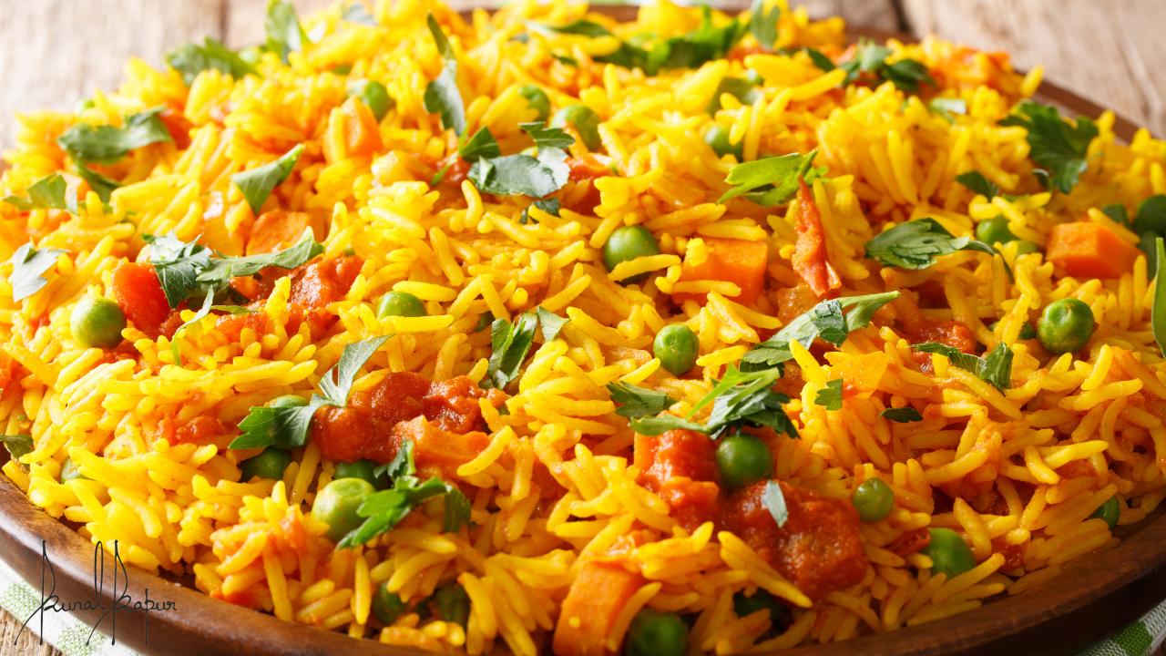 Veg Masala Pulao | Vegetable Tehri Recipe