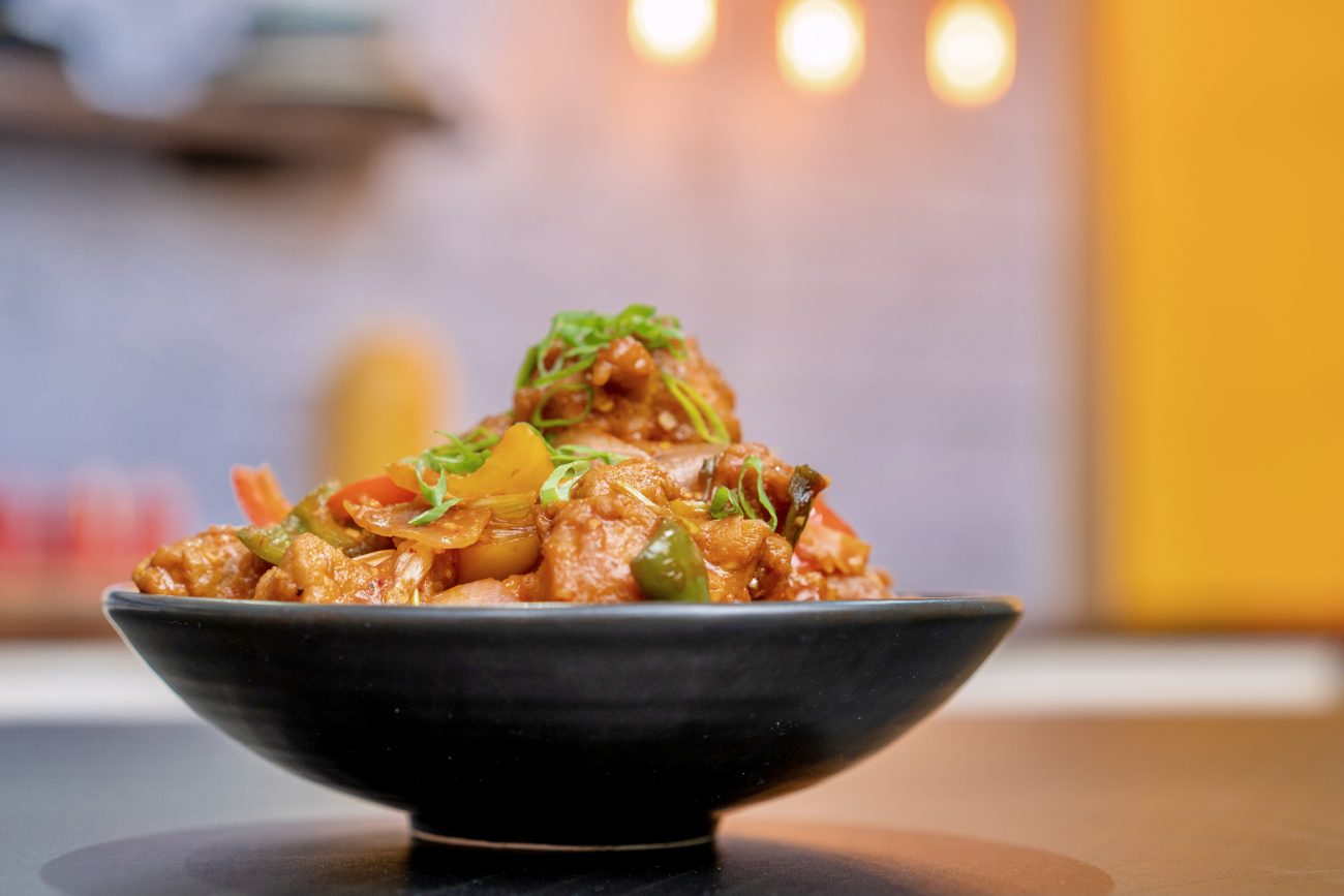 Chilli Chicken (dry & with sauce)