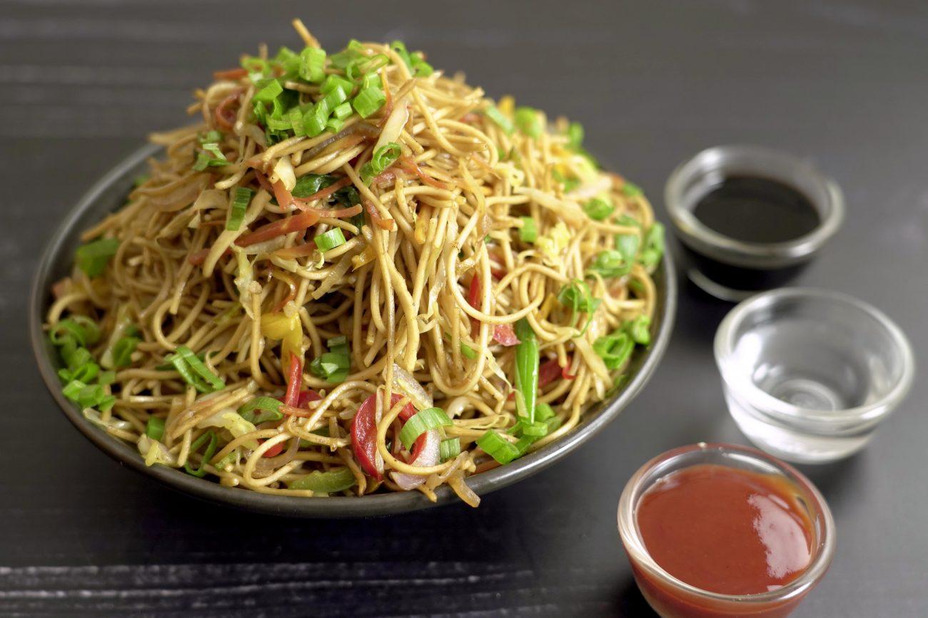 Veg Chowmein | Veg Noodles | Hakka Noodles