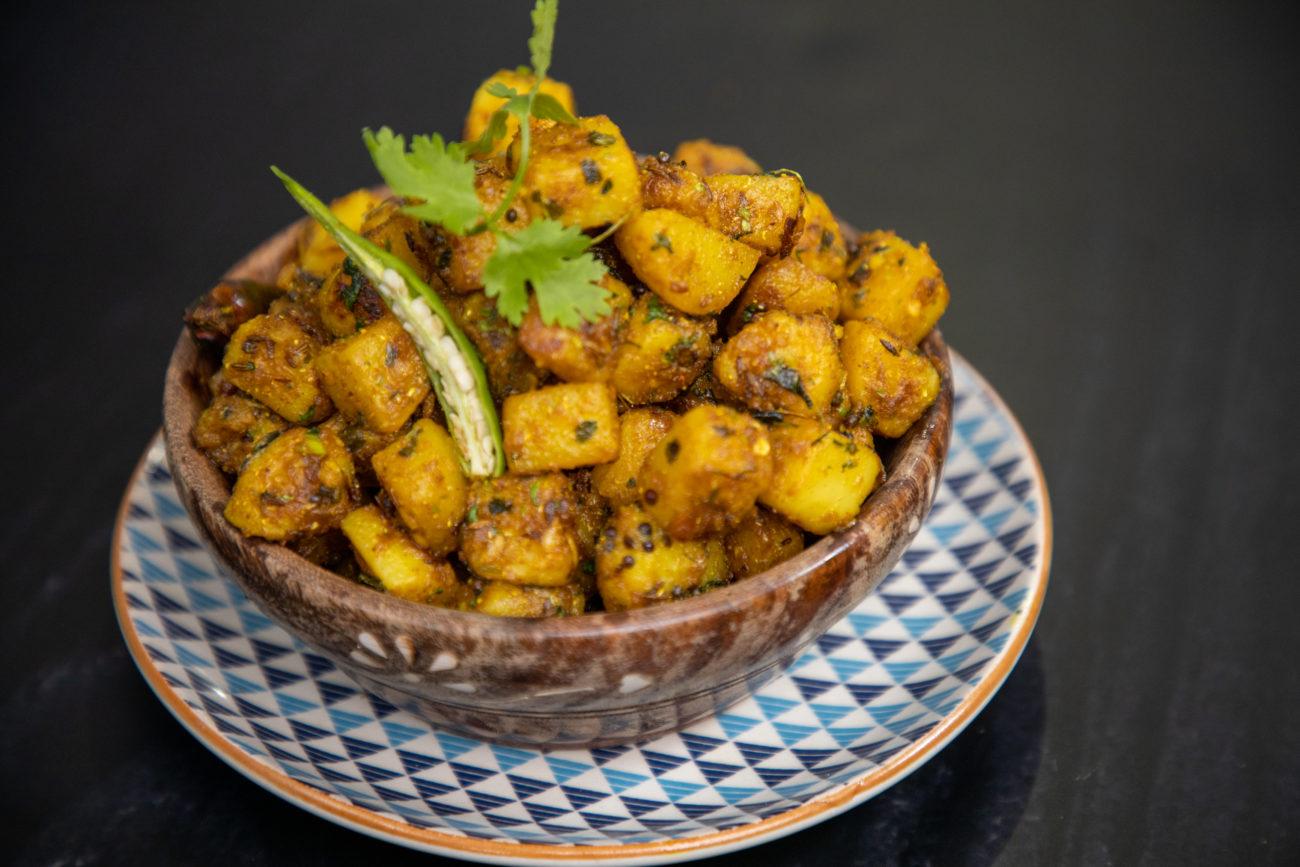 Chatpata Aloo Fry