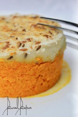 Baked Pumpkin and Potato Mash