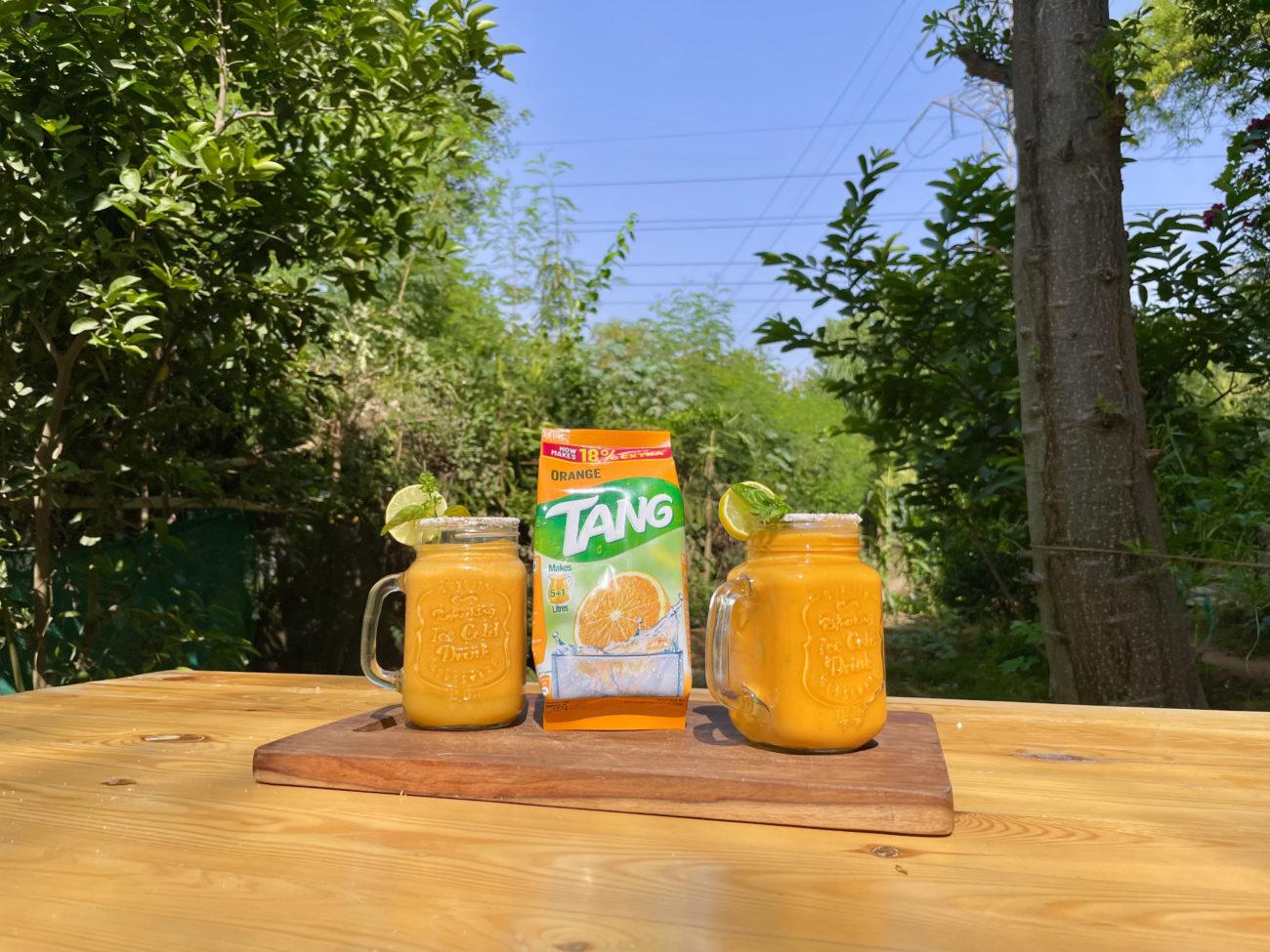 The Tang Orange Papaya Cooler